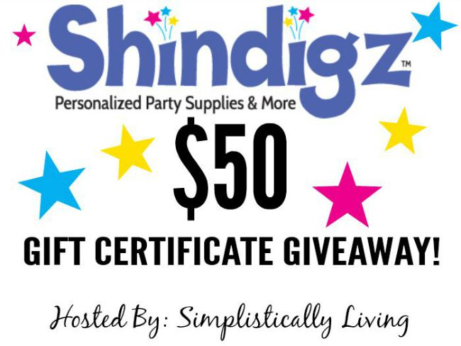 ShinDigz Gift Certificate Giveaway! $50