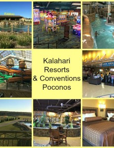 Kalahari Resorts & Conventions in PA's Poconos makes for a fun family vacation!