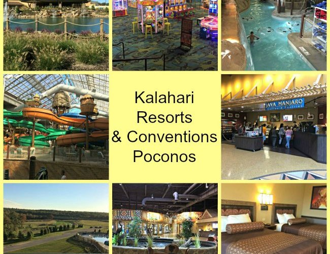 Trip to Kalahari Resorts & Conventions in the Poconos (Plus Giveaway!)