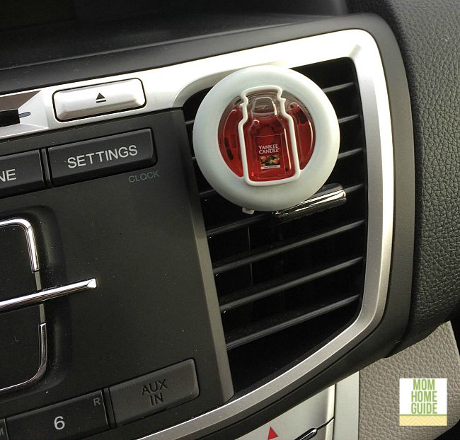 I love how Yankee Candle Brand Smart Scent Vent Clips add fragrance to my car. Plus, I love the cute jar shape!