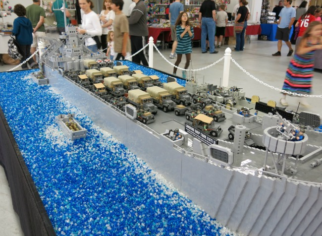 All sorts of amazing LEGO creations can be seen at the 2015 NJ Brickfair!