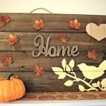 Holiday Craftacular: DIY Thanksgiving Wooden Sign