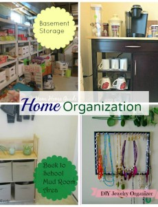 Tips for getting your while house organized!