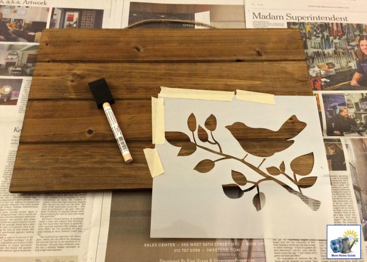 This Is An Easy Way To Make A DIY Fall Or Thanksgiving Wooden Sign