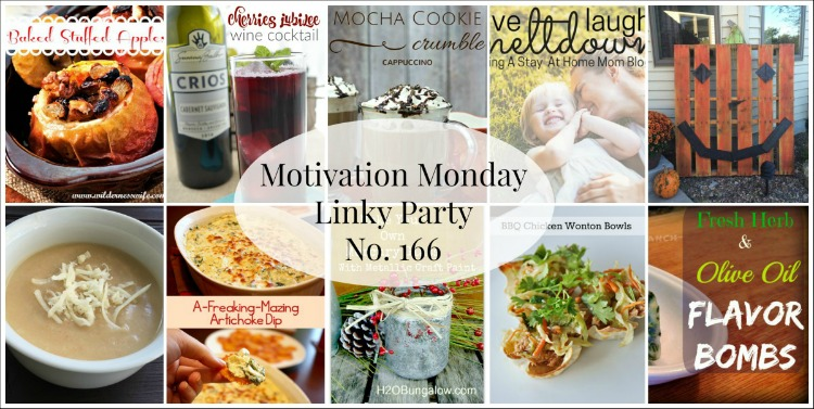 Motivation Monday Linky Party