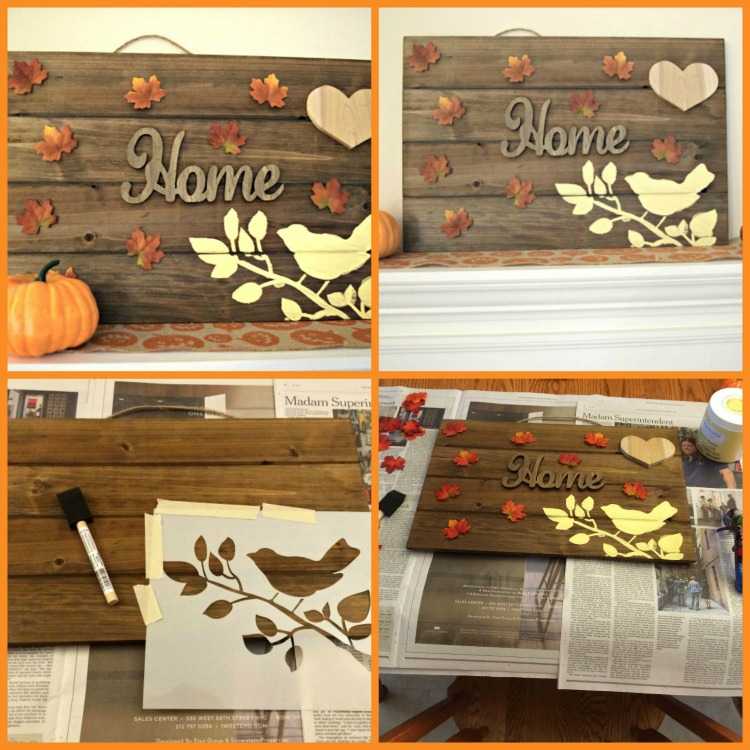 DIY Thanksgiving wooden pallet sign tutorial