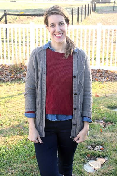 Carrie of Curly Crafty Mom shares her November Stitch Fix review