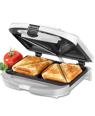 A panini grill would make it easy to cook grilled cheese sandwiches for my kids!