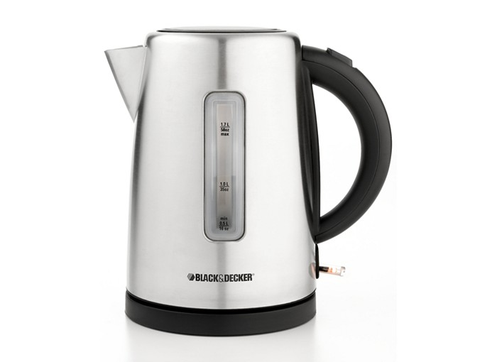An electric tea kettle would be a great holiday gift for tea drinkers like myself!