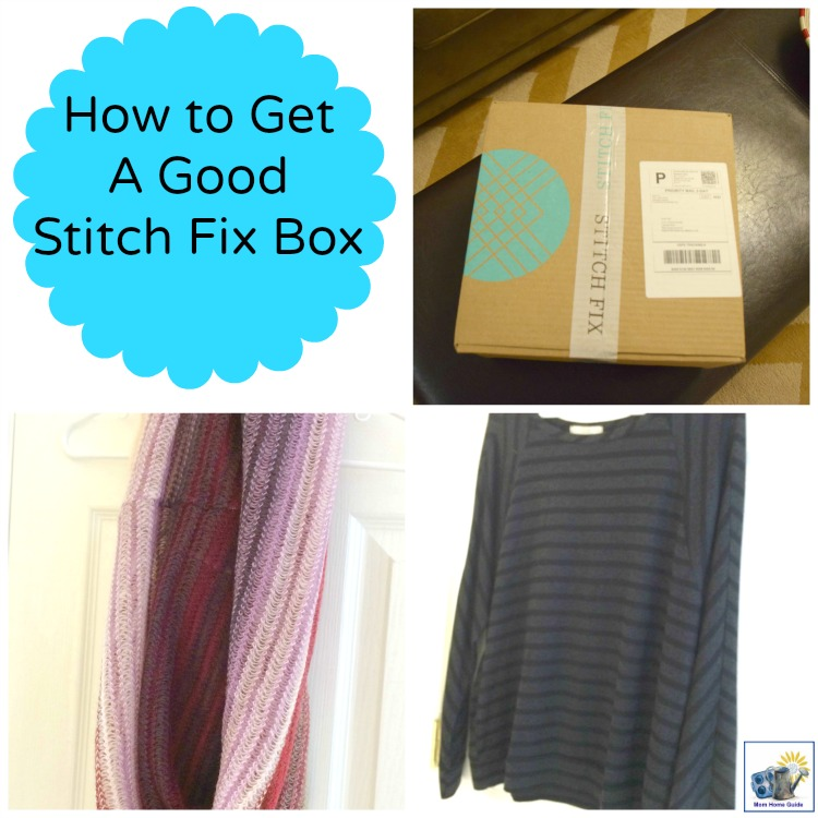 Tips for how to get the best clothes for you in your next Stitch Fix Box. Stitch Fix is a fun styling service where personalized clothing selections are sent to you at your home! Plus, it's pretty affordable! Love it!