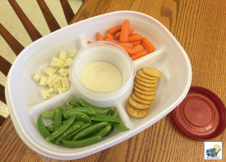 Rubbermaid Party Platter for transporting foods to holiday get-togethers.