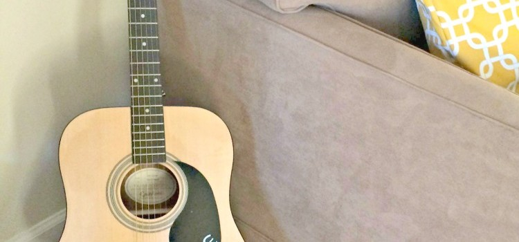 My Sweet New Guitar from Sweetwater