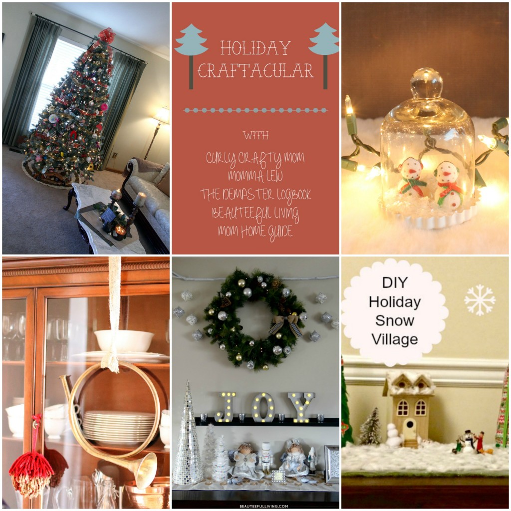 Five bloggers share their holiday decor for Christmas 2015!