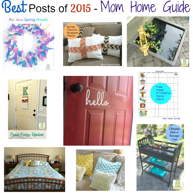 best posts of 2015 on Mom Home Guide