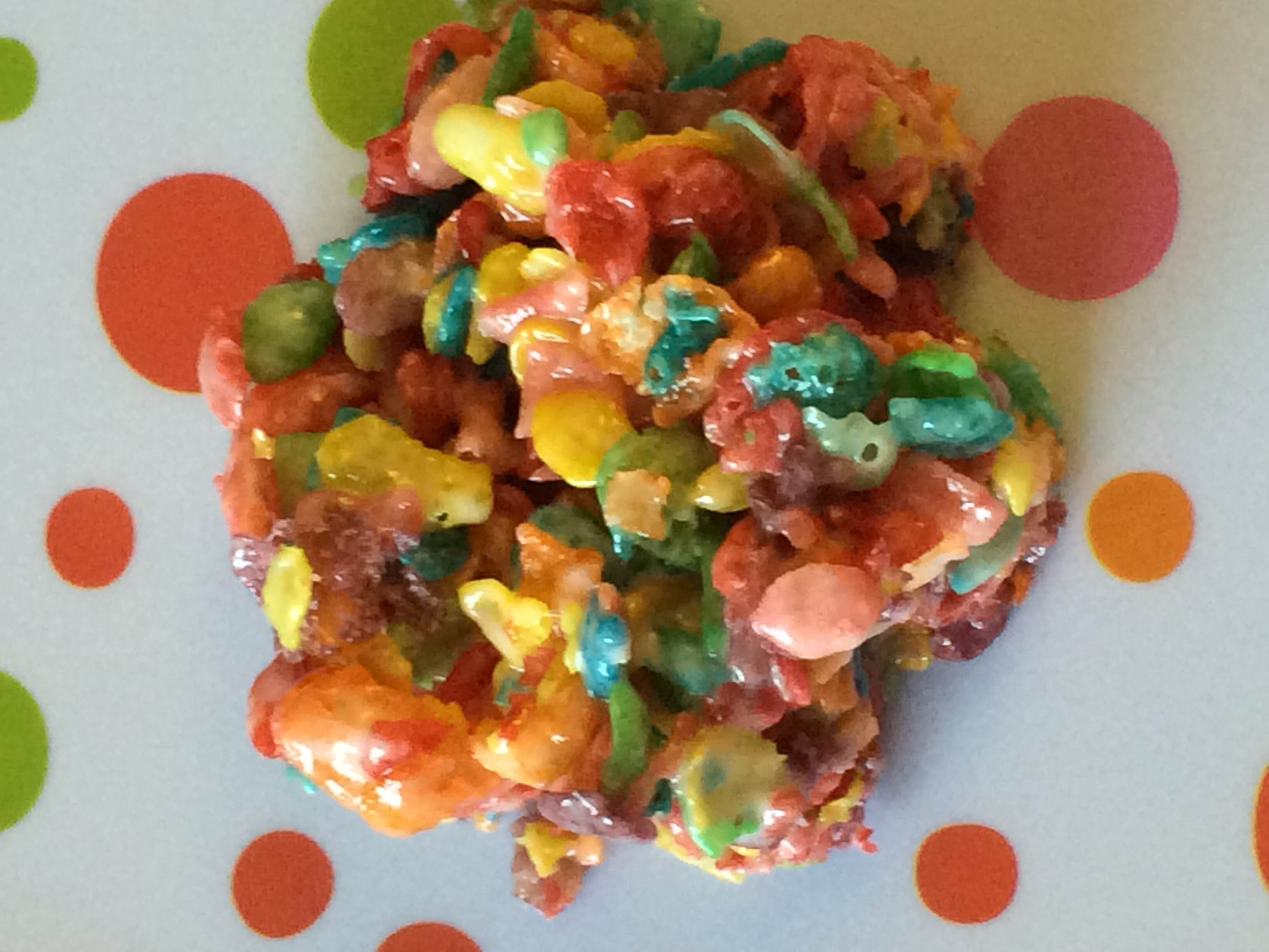 how to make fruity pebble bars