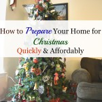 Quick & Affordable Christmas Decorating Tips