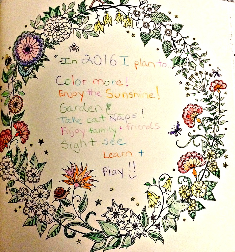 Coloring book resolution for 2016