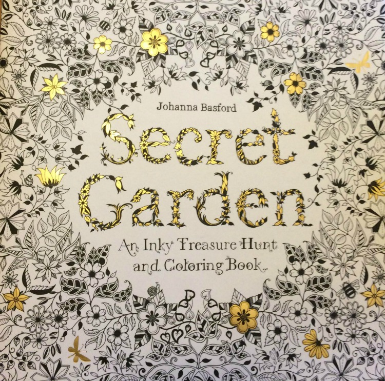 Secret Garden Adult Coloring book by Johanna Brasford is a fun coloring book for adults and is quite calming!
