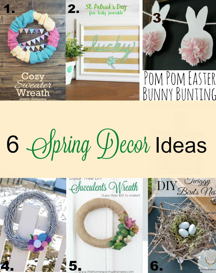6 great spring decor craft ideas