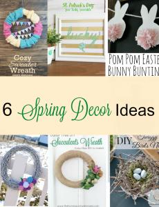 6 Beautiful DIY Spring Décor Ideas