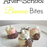 After-School Frozen Banana Bites