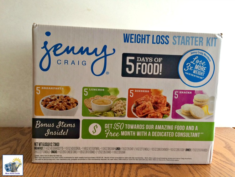 The 5 day Jenny Craig weight loss kit is avaialble at Walmart #JennyCraigKit @walmart