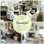 Beautiful Spring Living Spaces
