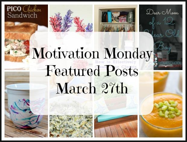 Motivation Monday features