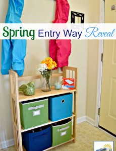 Spring Entry Way Reveal