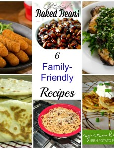 six family friendly recipes
