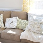 Spring Living Room Reveal  & Linky Party #DIYMySpring