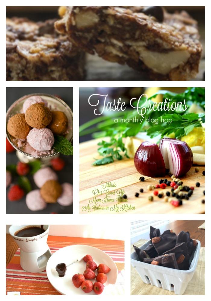 Taste Creations dark chocolate recipes
