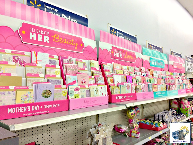 American Greetings Mother's Day cards at Walmart