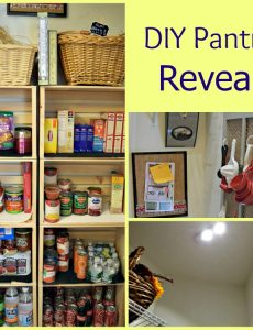DIY pantry reveal