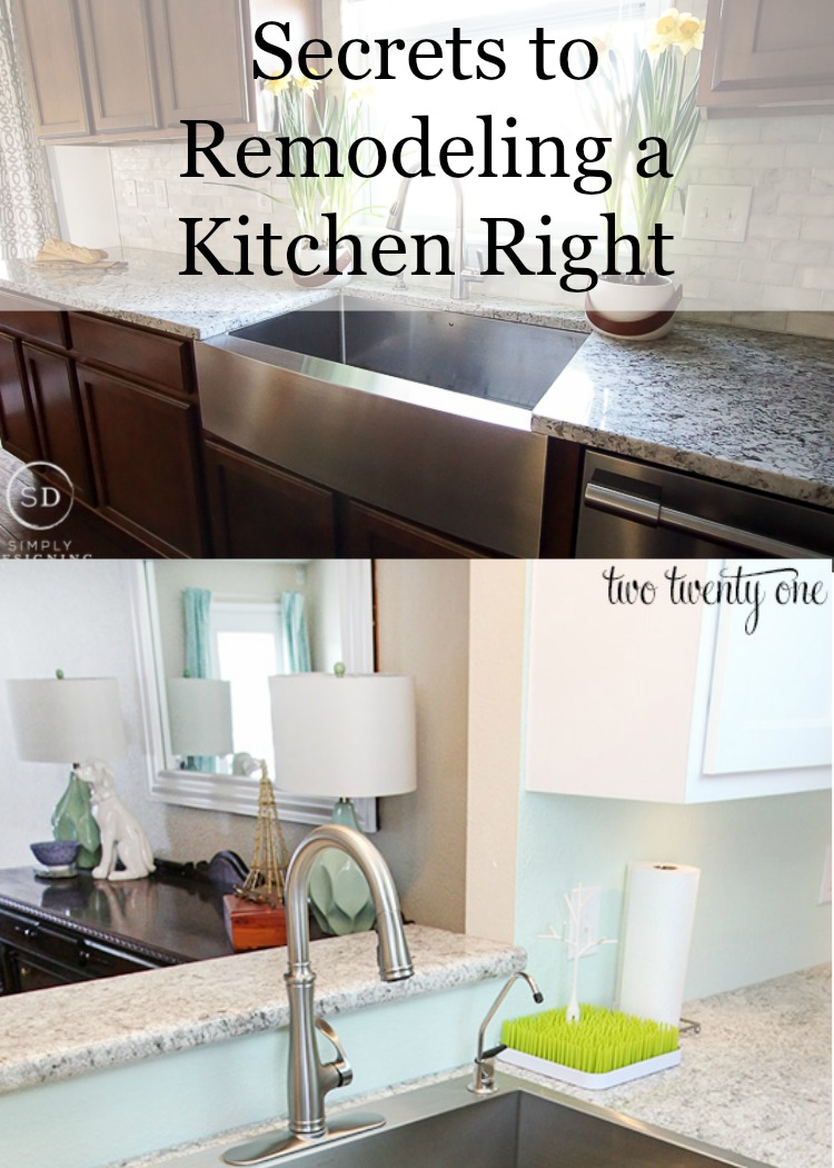Tips on how to remodel a kitchen the right way, for long-lasting, beautiful results!