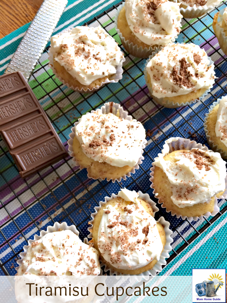 I love this recipe for tiramisu cupcakes