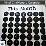 Pantry Chalkboard Calendar — and Giveaway!
