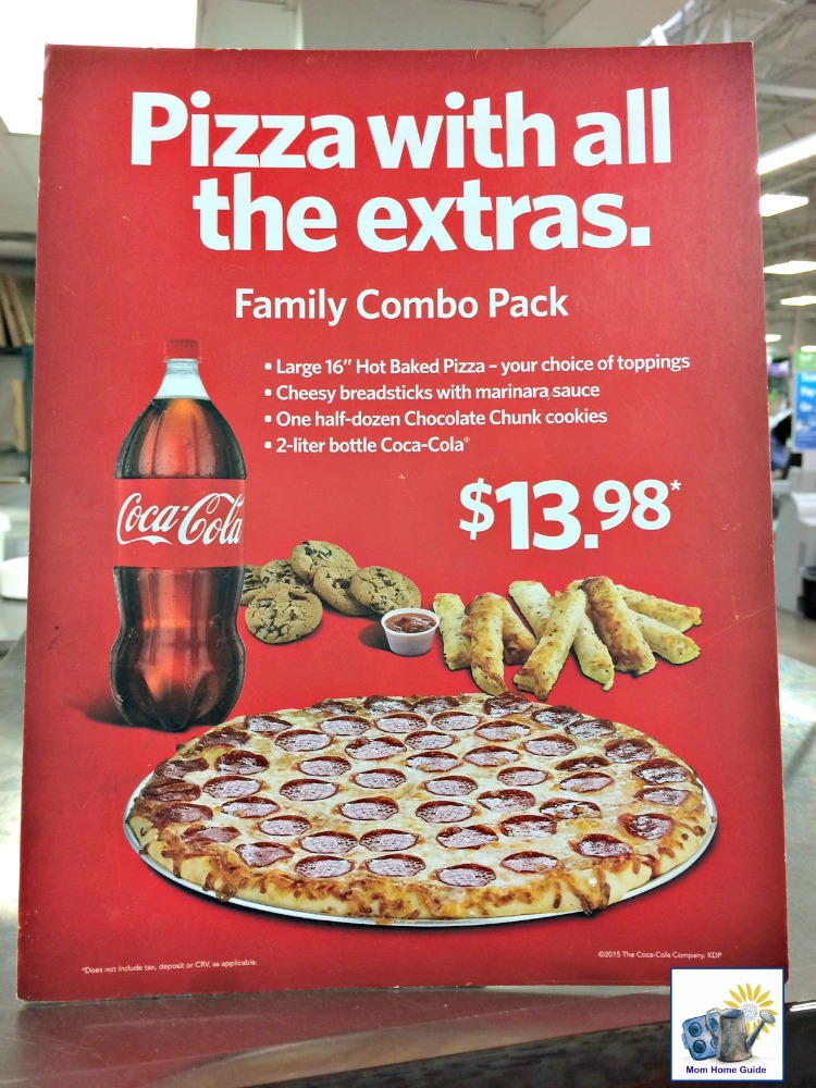 The Family Combo Pack at Sam's Club is a delicious, easy and inexpensive weeknight meal option