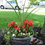 Shade Container Gardens {Curb Appeal Blog Hop – Week 2}
