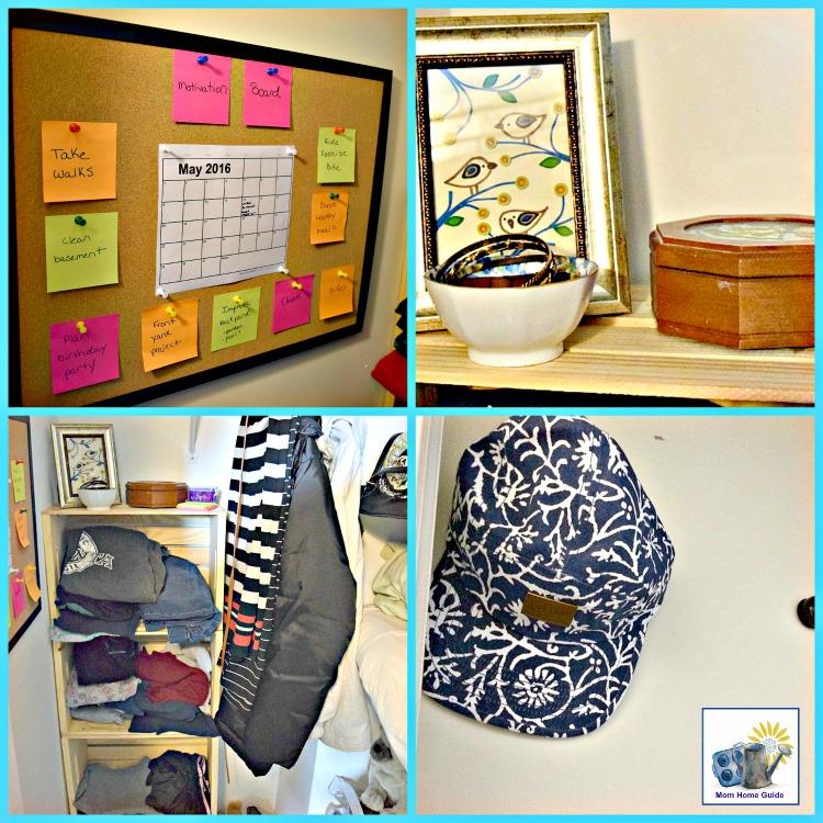 summer organized bedroom closet