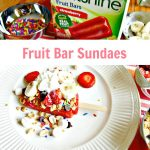 Summer Fruit Bar Sundaes & Sweepstakes