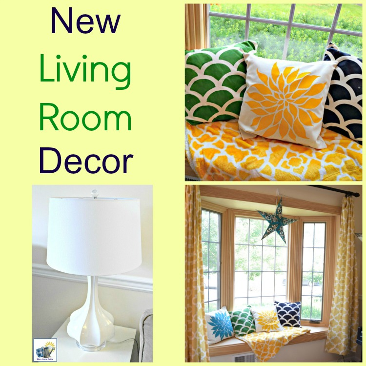 Fun items for a bright and sunny living room