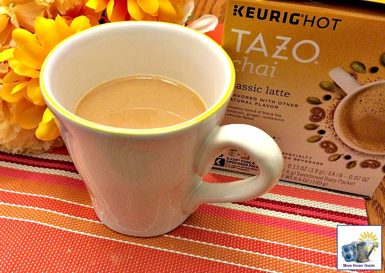 Tazo Chai Latte tea is the perfect blend of sweet meets spicy!