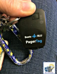 Beets Blu Pager Tag helps me keep track of my keys -- and my cell phone