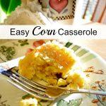 Easy Corn Casserole {Taste Creations Blog Hop}