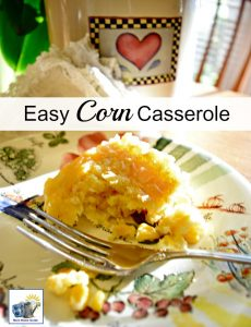 Easy corn casserole -- this casserole is inexpensive and simple to make, but it is so delicious!