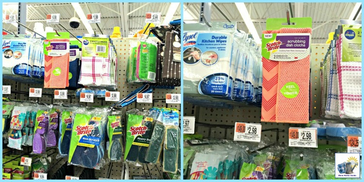 Scotch Brite Scrubbing Cloths at Walmart