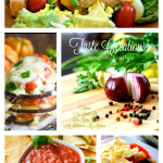 Southwestern Chicken Tomato Avocado Salad and Taste Creations Blog Hop
