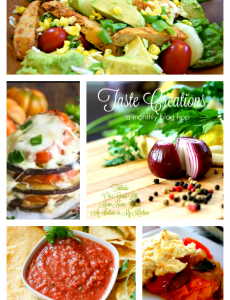 Tomato recipes - Taste Creations blog hop