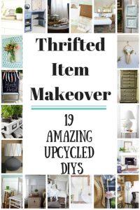 Thrifted Item Makeover Blog Hop